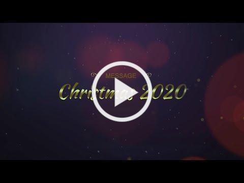 Message Christmas 2020 - Fr. Fernando García sx