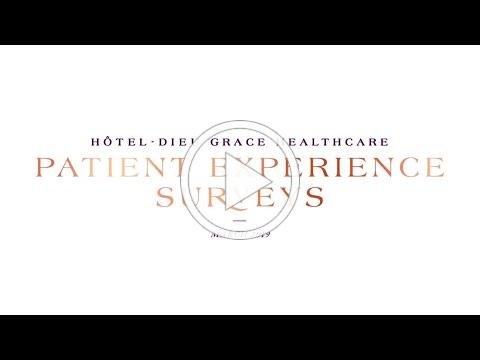 Patient Experience Surveys at HDGH