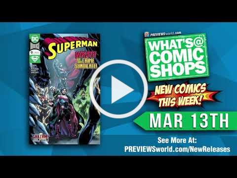 What's @ Comic Shops: New Comics This Week For 3/13/2019