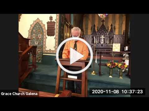 Grace Episcopal Church Sunday Eucharist 11-8-2020