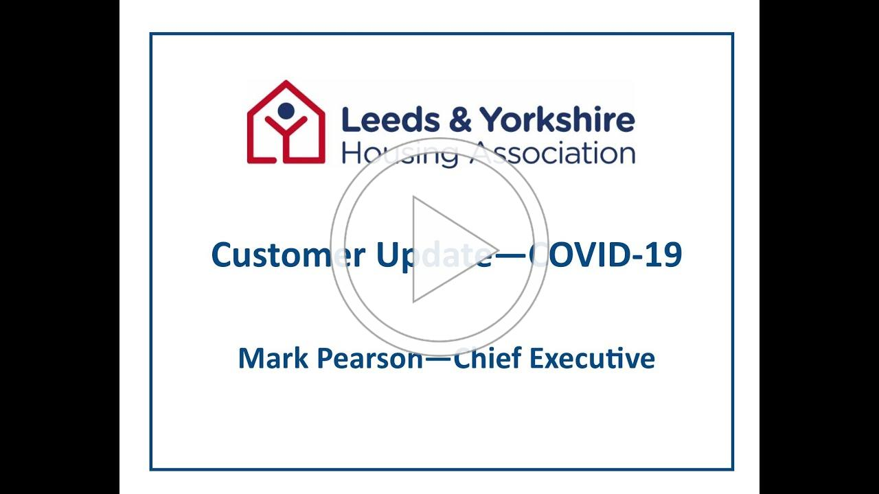 Message to our customers from Mark Pearson CEO - 30 March 2020