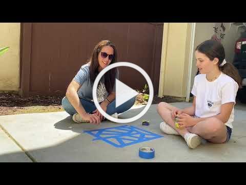 5 13 Gamal Geometric Chalk Drawing