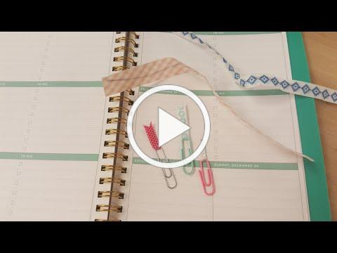 Washi Tape Twisty Ties and Clips