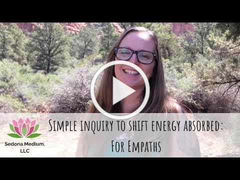 Inquiry to shift energies absorbed from others