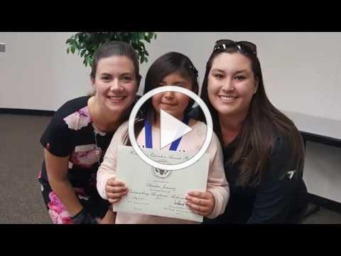 Global Learners Student Recognition Fall 2017