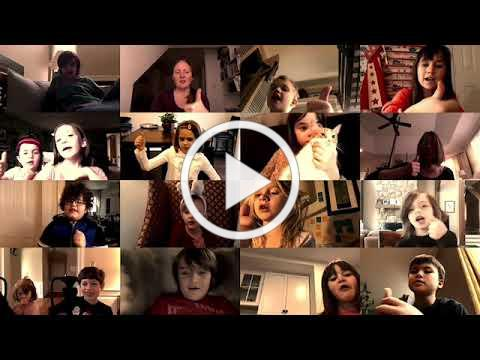 """First Grade Sings """"This Little Light of Mine"""""""
