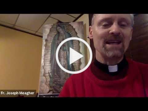 Fr Joseph's invitation to he NJ Conference 2021