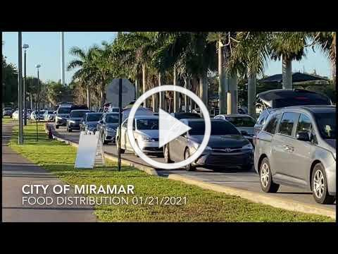 City of Miramar Food Distribution 01/21/2021