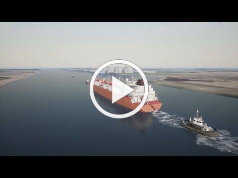 LNG vessel video - NextDecade Rio Grande LNG