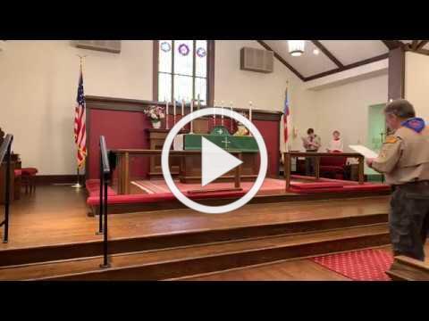 Sunday Service at St. Margaret's on February 9