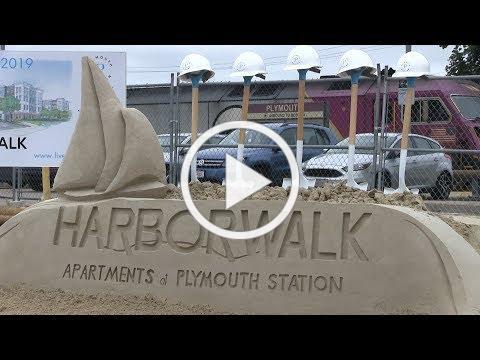 Plymouth Harborwalk Apartments Groundbreaking Ceremony