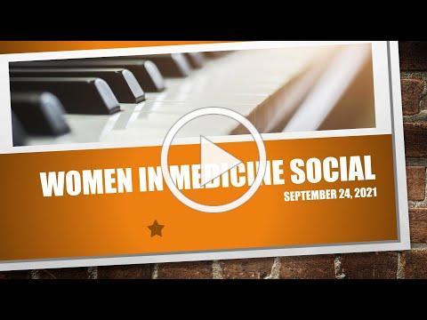 HCMA Women in Medicine Social - September 23, 2021