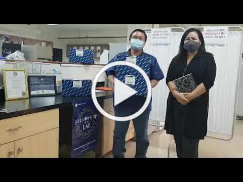 Thank you from GPHL to WHO for donating COVID-19 RNA extraction kits