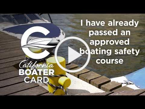HOW TO APPLY: You've Passed an Approved Boating Safety Course