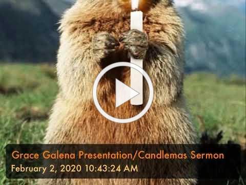 Grace Galena Presentation/Candlemas Sermon