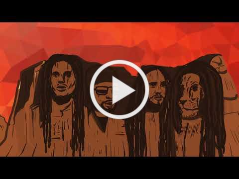 Toots and the Maytals Feat. Ziggy Marley - Three Little Birds (Animated Video)