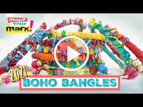 HOW to Make Jewelry - Boho Bangles 2021 - The New Friendship Bracelet
