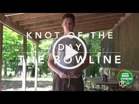 Knot of the Day, Bowling, 9 June 2020