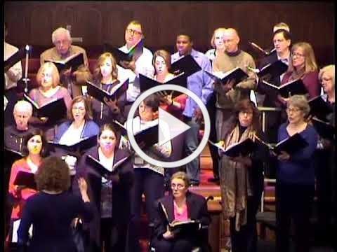 """FCCGE - """"Francis' Prayer"""" by Ellen Coman - Holy Cross and FCCGE Choirs"""