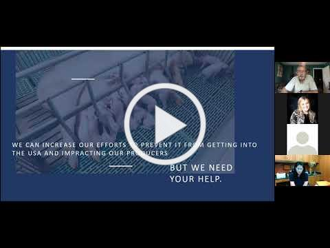 African Swine Fever Overview with Dr. Rod Hall