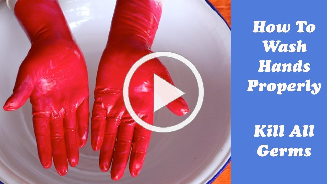 How to wash hands properly to kill all Germs, Hand-washing Steps Using WHO Technique, Doctors style