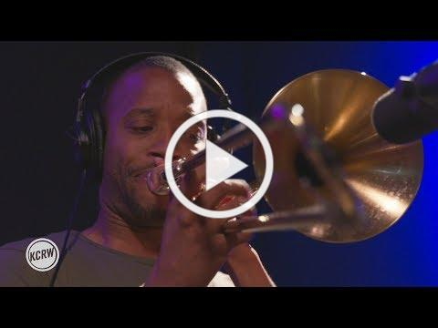 "Trombone Shorty performing ""Where It At?"" Live on KCRW"