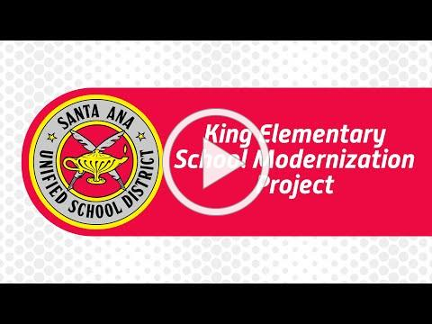 King Elementary School showcases its completed modernization project showcasing campus upgrades.