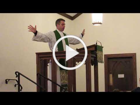 Sermon on October 7, 2018