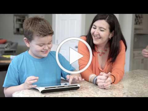 Meet Hunter and his power to express himself - Tobii Dynavox Indi™