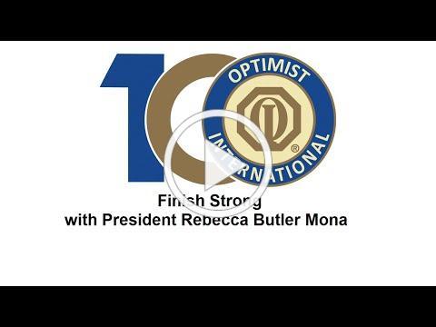 Finish Strong! A September message from President Rebecca Butler Mona