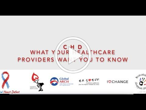 CHD: What your healthcare providers want you to know