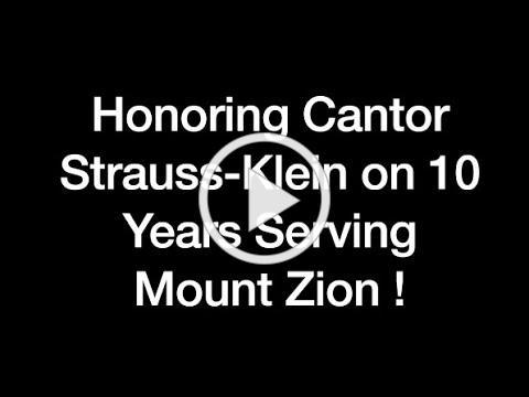 Cantor Strauss-Klein