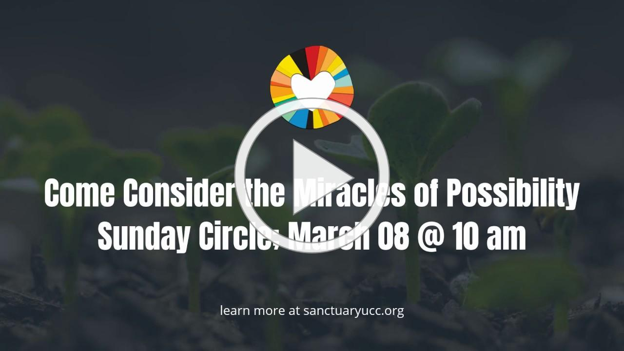 Sunday Circle | The Power of the Possible