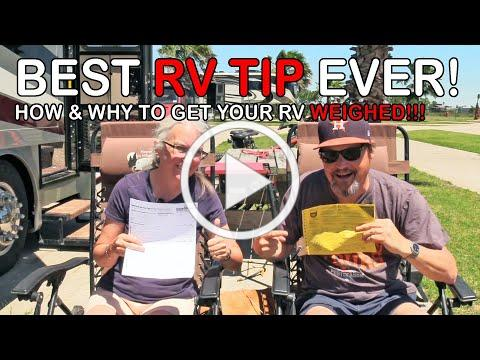 2 Ways to Weigh Your RV and Why It's Important | RV Texas Y'all