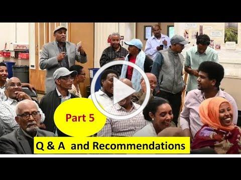 Part 5 Recommendations and Way Forward - Sinit Conference July 6th 2019