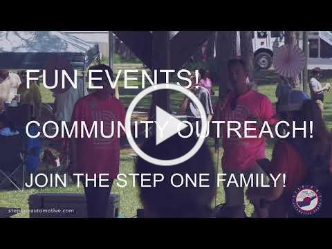 Join our Step One Event Team