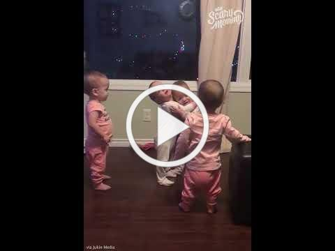 Babies Can't Stop Hugging Each Other