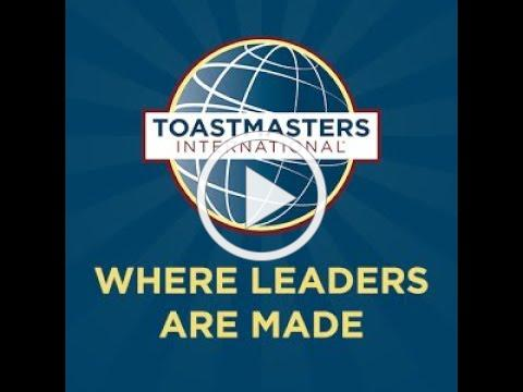 The Power Of Words with Toastmasters