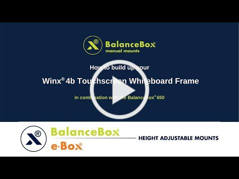 How to build up your Winx® 4b Touchscreen Whiteboard Frame?