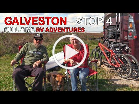 Galveston Island | Full Time RV Life On The Road | RV Texas Y'all