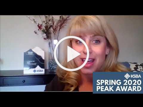 KSBA's Spring 2020 PEAK Award (virtual) presentation - Metcalfe Co. Schools