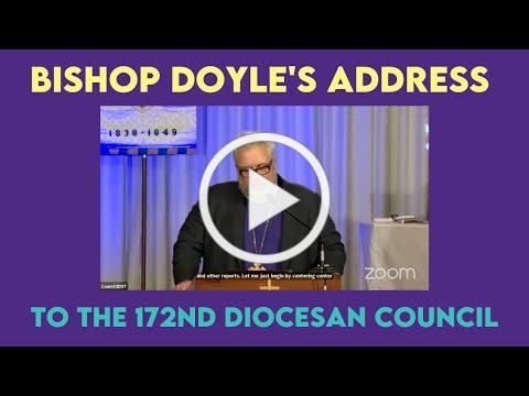 Bishop's Address 172nd Diocesan Council 2021