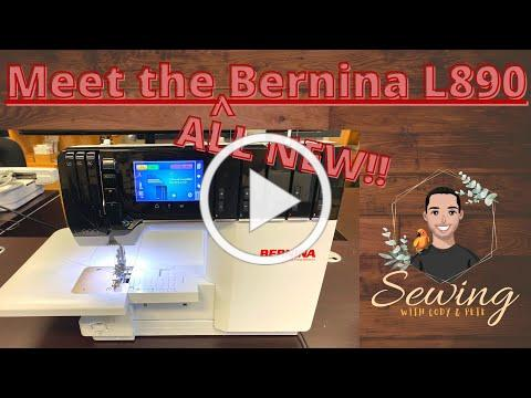 Meet the New Bernina L890