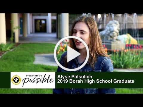 Boise and Beyond - 2019 Graduate Profiles - Alyse Palsulich