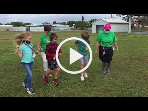 Jensen Beach Elementary School - Jerusalema Dance Challenge