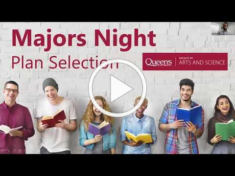 Majors Night - What is Plan Selection?