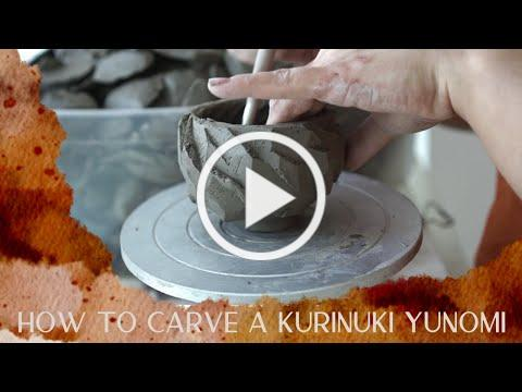 Kurinuki Yunomi: How to carve a teacup from a lump of clay