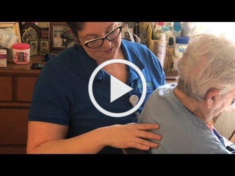 Massage Therapy at Hospice Savannah