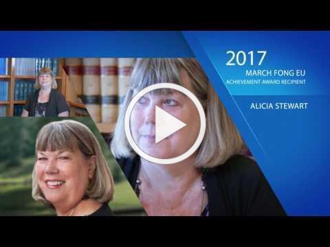 The NNA's 2017 March Fong Eu Award Recipient: Alicia Stewart