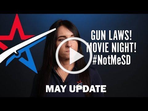 SBCGO Report Gun Laws, Movie Night, and #NotMeSD